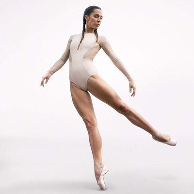Ana Sophia Scheller limited collection leotard, nude color