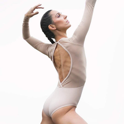 Skin color leotard for ballerinas