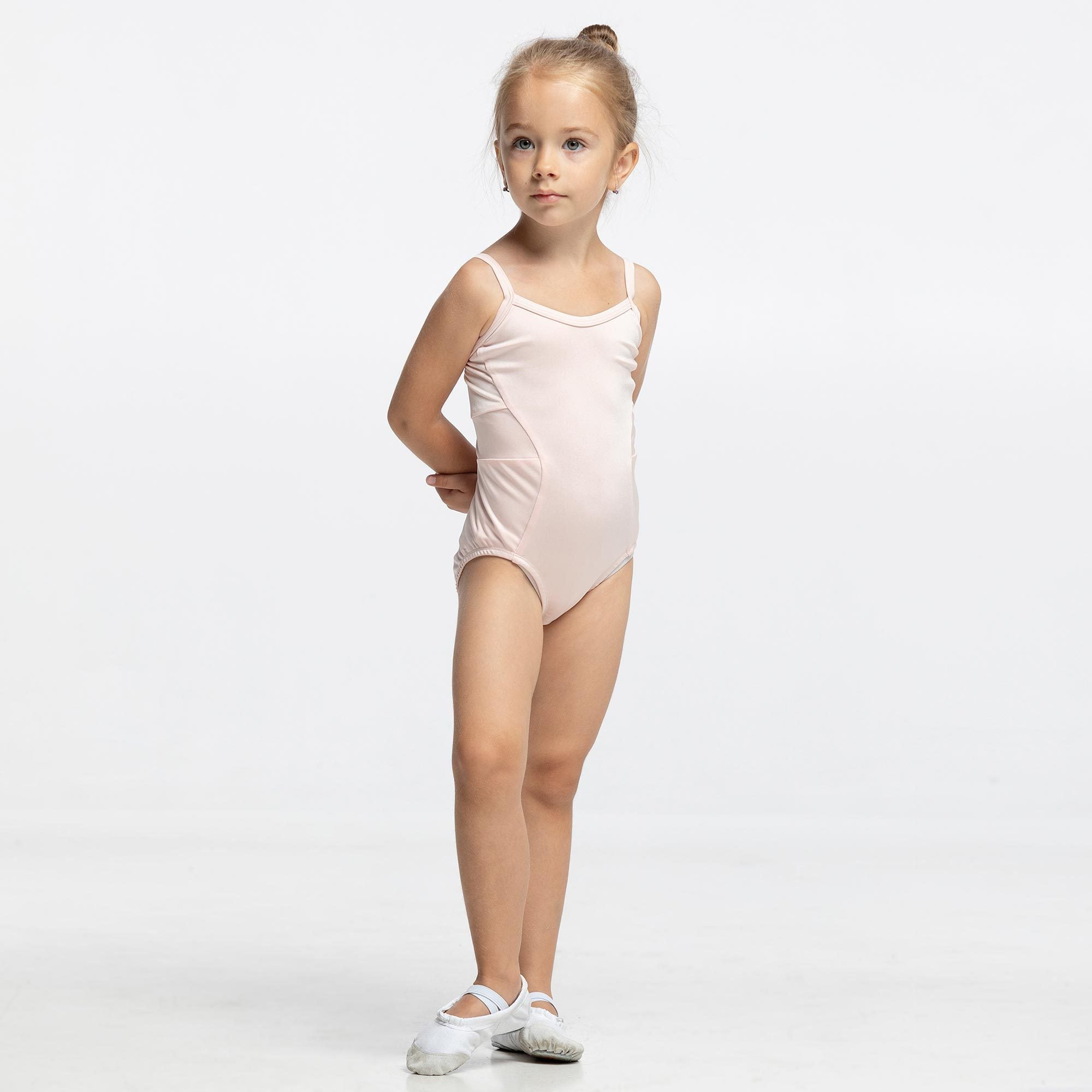 Lili leotard Pearl Peach