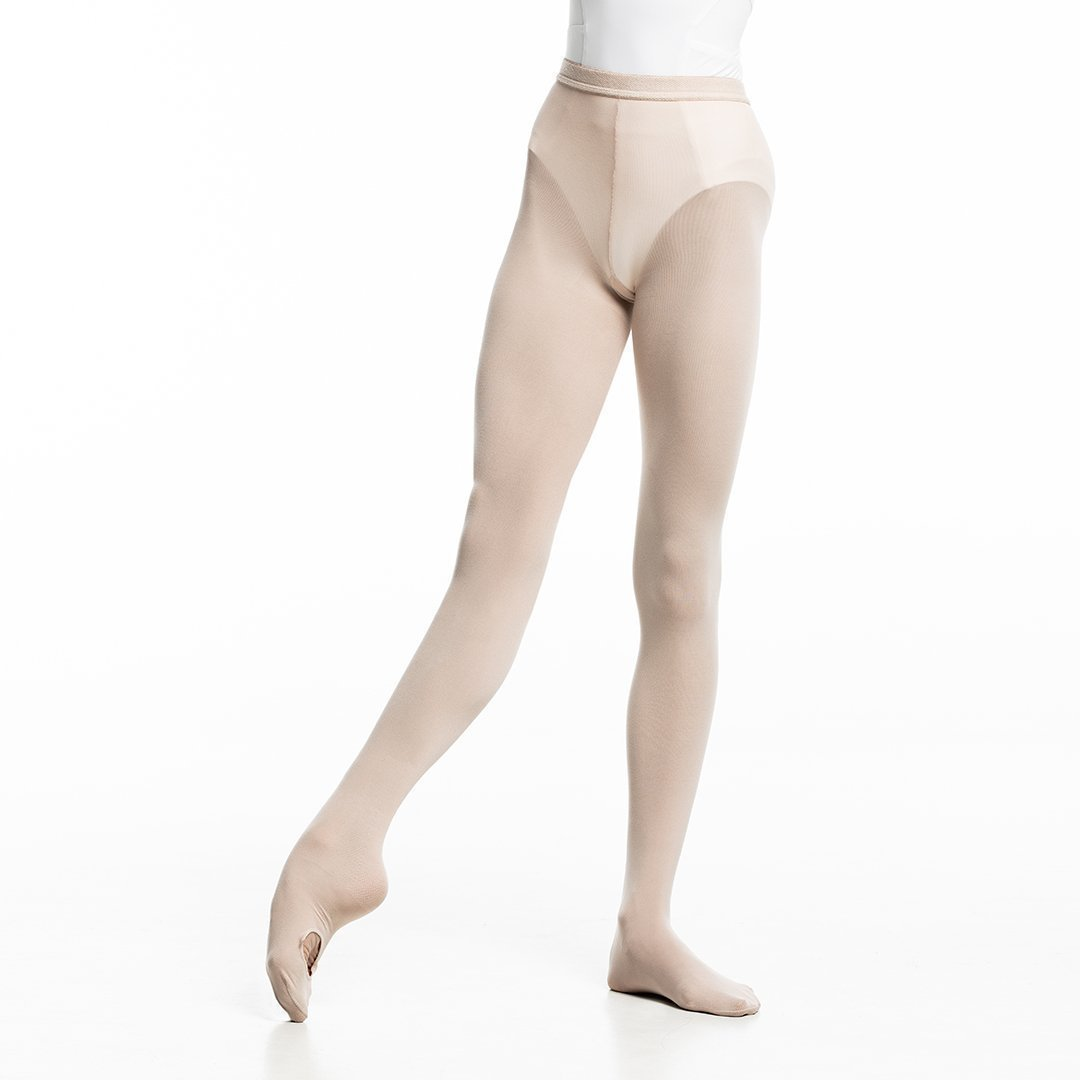 Zarely tights-teens S / Stage Pink / Without Back Seam Z2 Performance Ballet Tights for teens