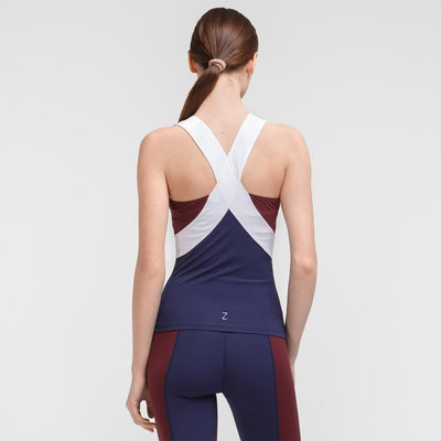 Zarely top-women Lia Burgundy Top