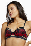 Playful Promises Tasmin Ruby Lace Bra