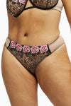Playful Promises Katy Rose Embroidered Brazilian Brief Curve
