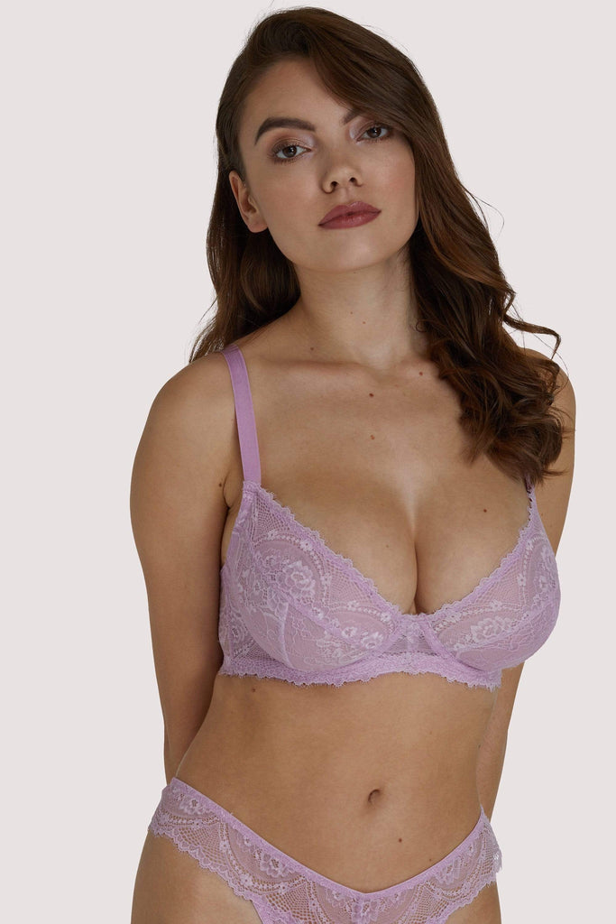 Wolf & Whistle Ariana Lilac Everyday Plunge Bra