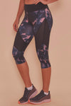 Wolf & Whistle Dark Marble Cropped Leggings