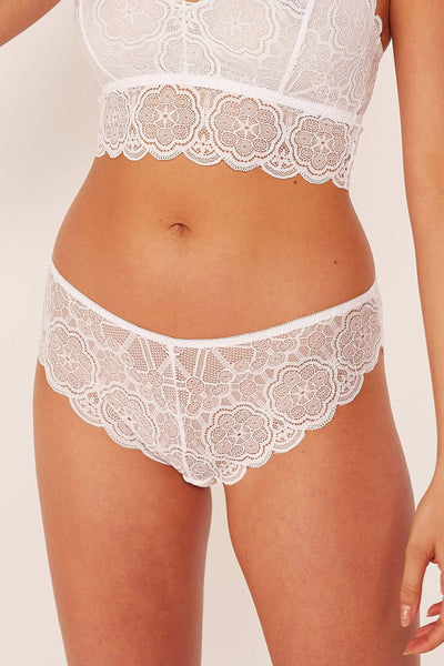 Wolf & Whistle Ariana Lace Neon Pink