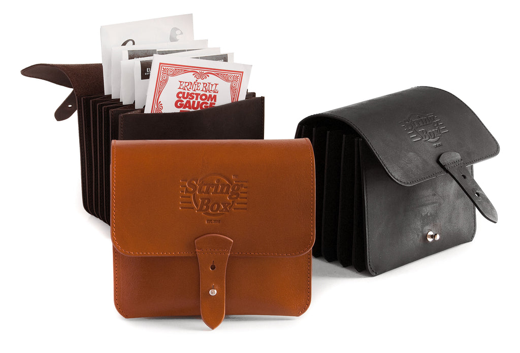 Case guitar strings wallet