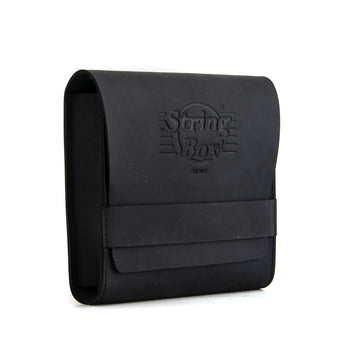 Case guitar strings - String Box - Pouch - Black