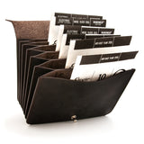 String Box - Wallet - Dark Brown