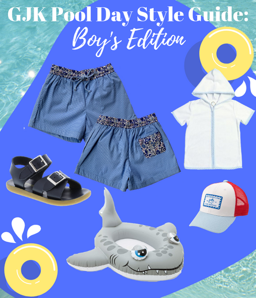 GJK Pool Day Style Guide: Boys Edition