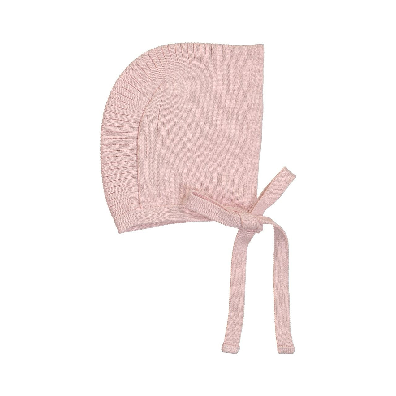 Ribbed Knit Bonnet