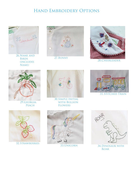 Hand Embroidery for Sweaters and Cardigans