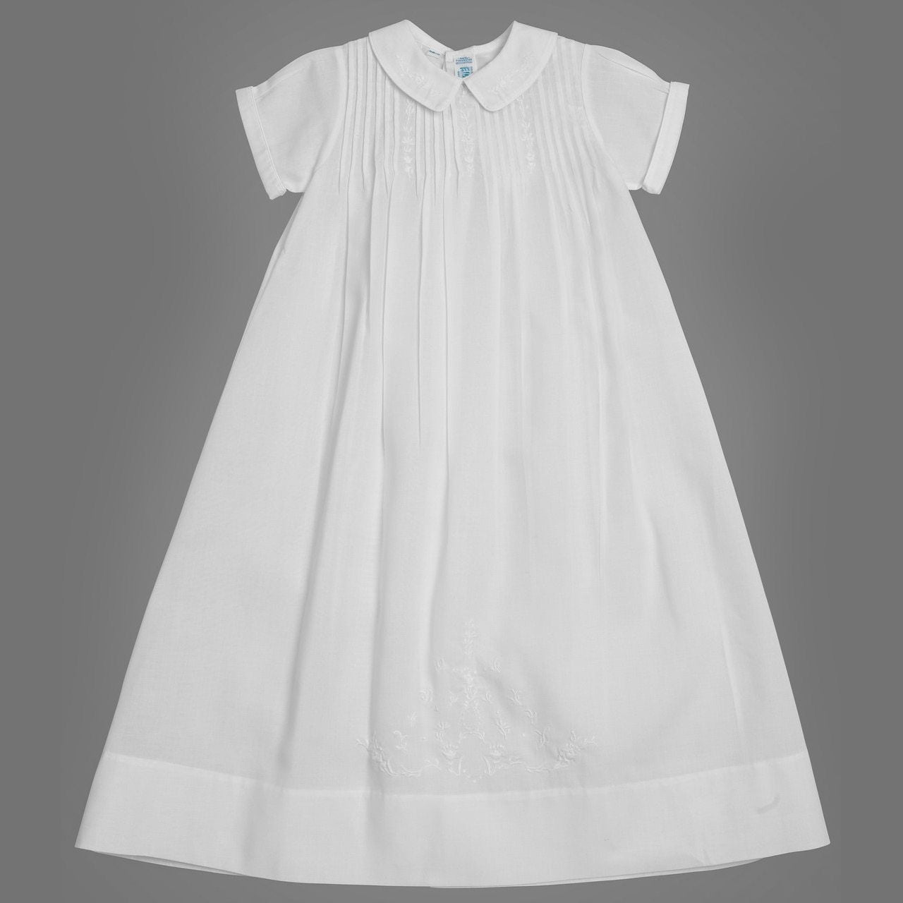 Boys Embroidered Collar Special Occasion Gown Set