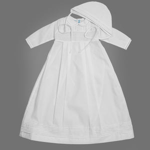 Boys Long Sleeve Smocked Special Occasion Set
