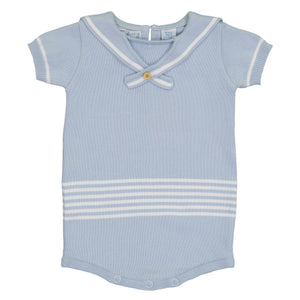 Knit Sailor Romper