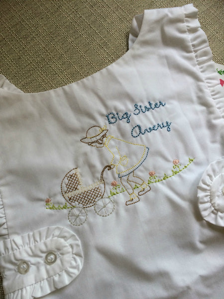Big Sister Carriage Embroidery