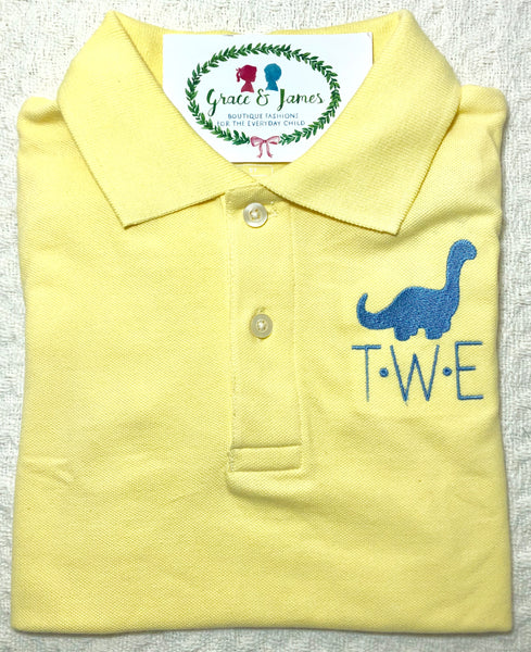 Dinosaur Embroidery