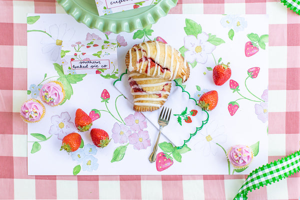 Strawberry Placemats