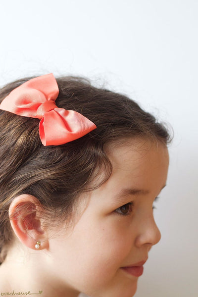 Big Grosgrain Bow Hair Clip