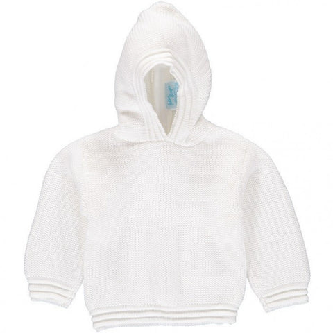 Julius Berger White Zip Back Hoodie