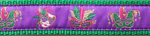 Mardi Gras Mask Belt