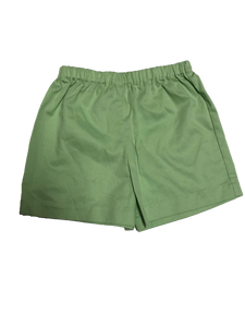 Robert Classic Shorts- Pistachio Pique- Sizes 6, 8