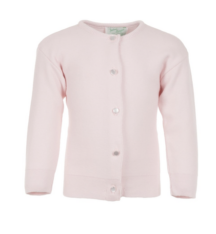 Julius Berger Pink Cotton Cashmere Cardigan