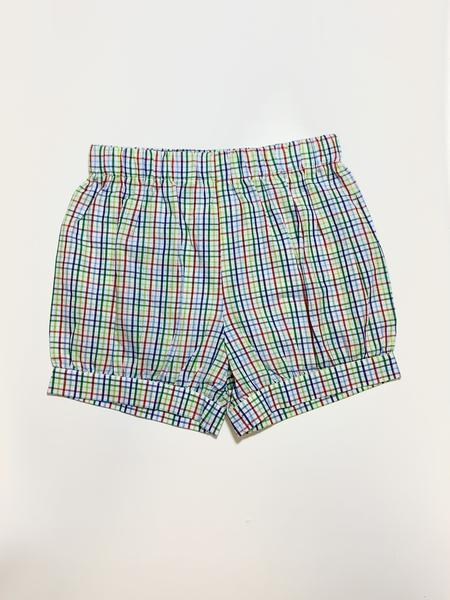 Primary Plaid Bottoms