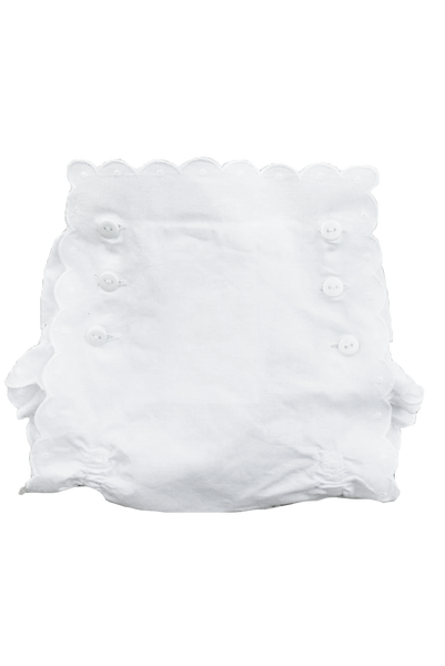 Blank Scalloped Fancy Bloomers