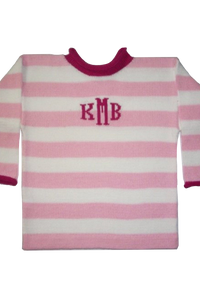 Small Stripe Sweater with Name