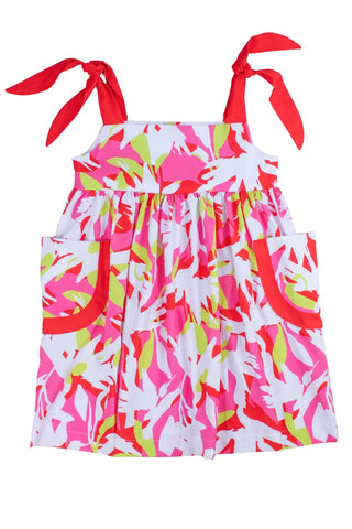 CROSBY Pink Tropics Dress PRE-ORDER