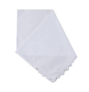 Scalloped Corner Crochet Handkerchief