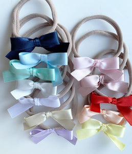 Baby Satin Headbands Set