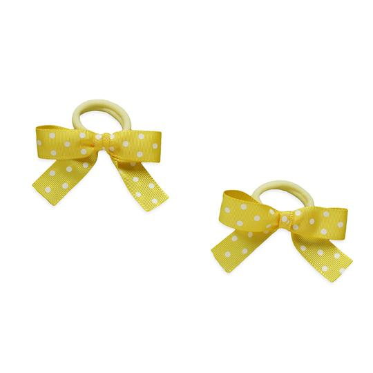 Dot Hair Ties Bows