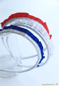 Americana Silver Crown Headband