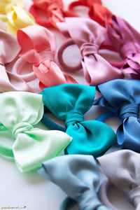 Big Grosgrain Bow Hair Tie