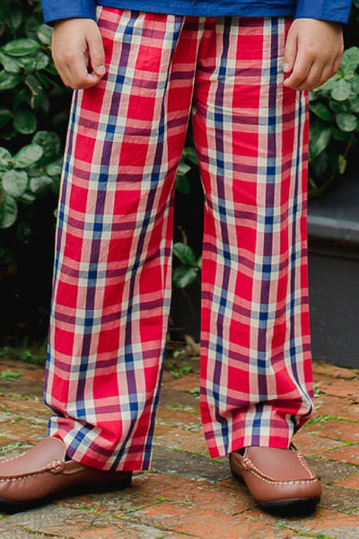 William Plaid Bottoms