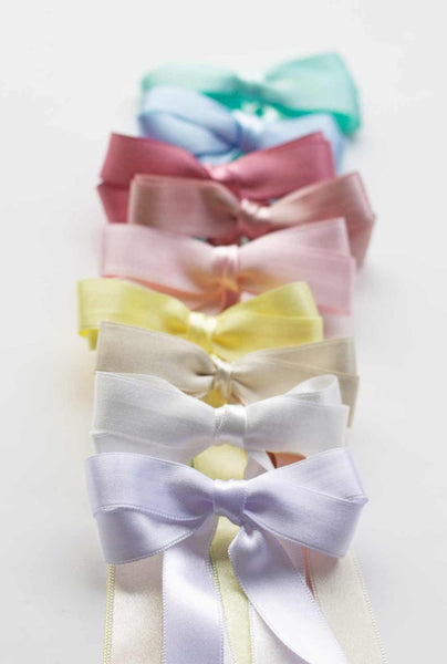 Long Double Satin Bow - Heirloom Collection