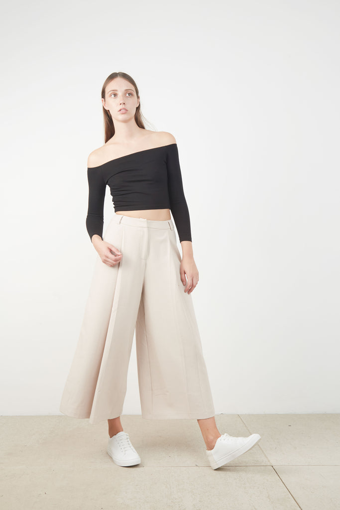 LEIGH PLEATED PANT