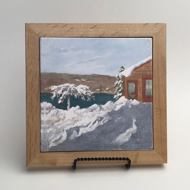 "Trivet / RS ""Beauty After the Blizzard"""