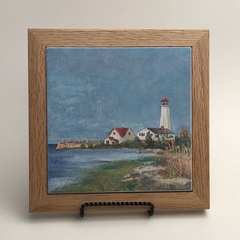 "Trivet/RS -""Sentinel of Saybrook"""