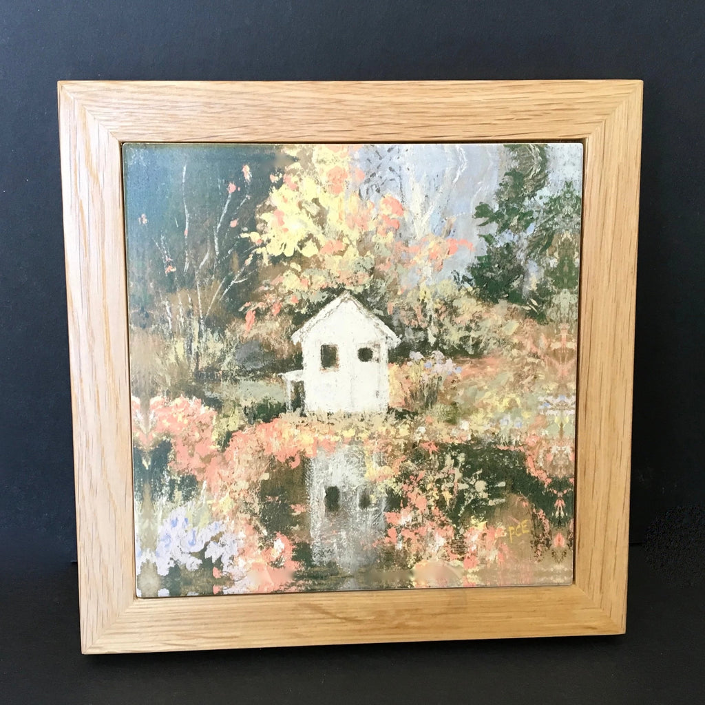 "Trivet / NE ""Little House in Autumn"""