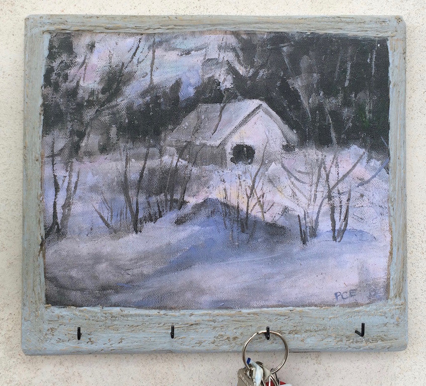 """Little House in Winter"" - KR"