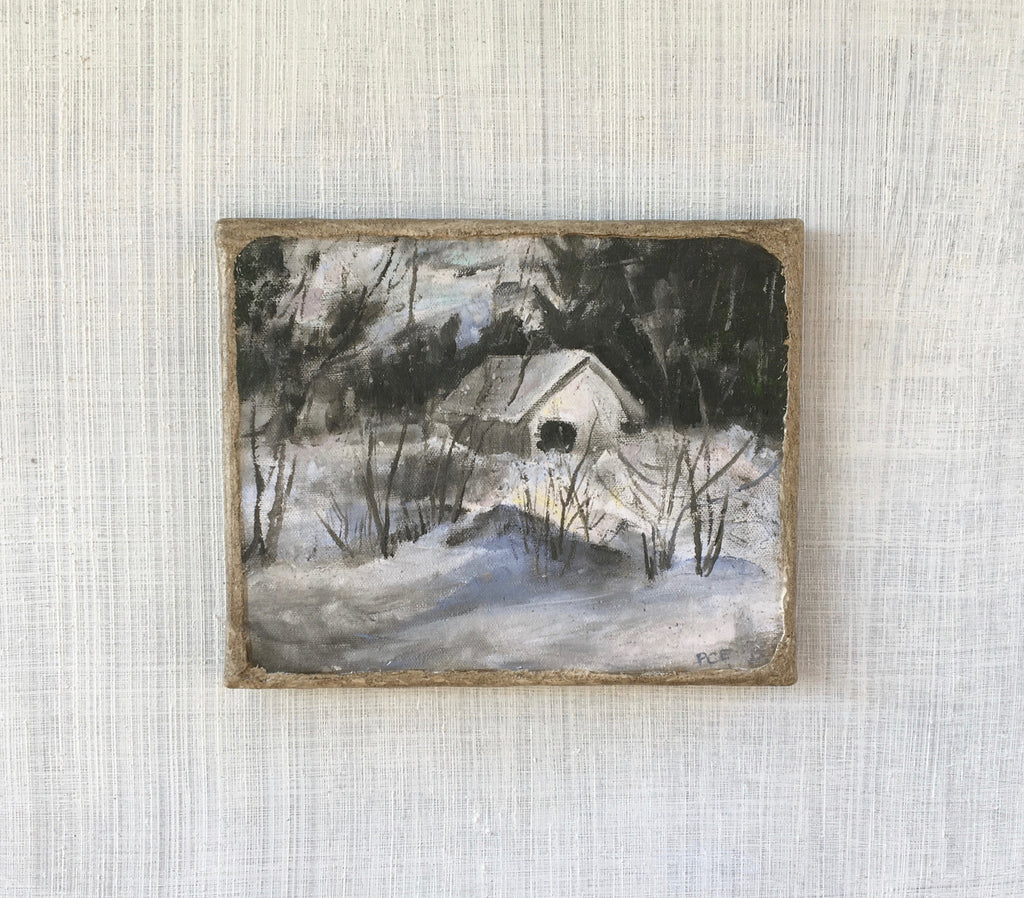 """Little House in Winter"""