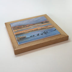 "Trivet/RS -""Salt Marsh Sanctuary"""