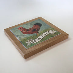 "Trivet/SB -""RI Red Rooster"""