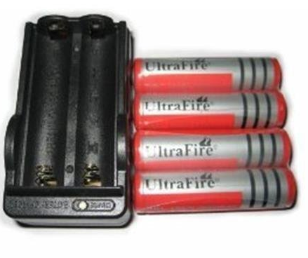 18650 3000 mAh 3.7V Li-ion Rechargeable Battery 1pcs Charger