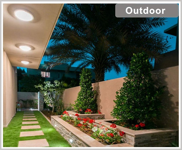Cloudy Bay Flush mount ceiling light application outdoor