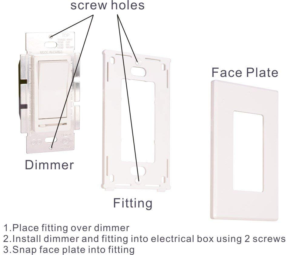 Way Dimmer Switch Wiring Diagram How To Wire A Light Switch And