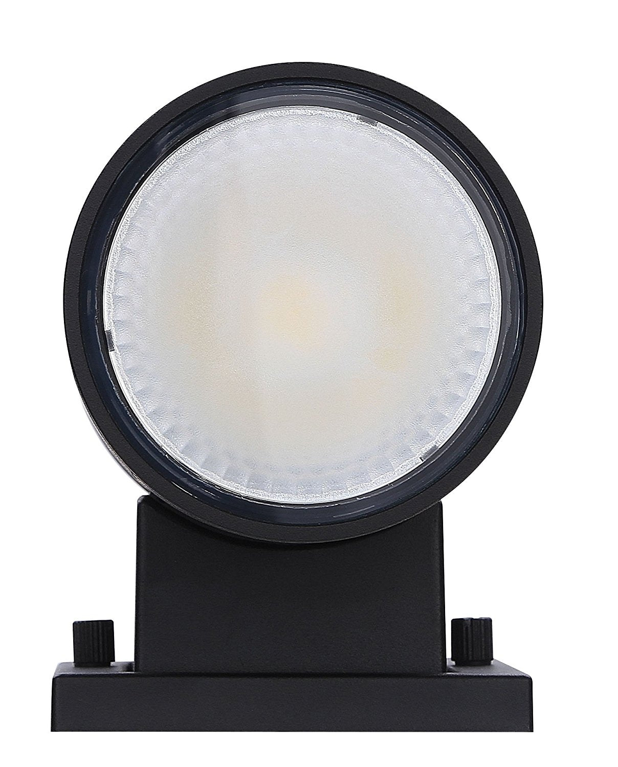LED Outdoor Up & Down Porch Wall Light, 4-inch, 20W, Black Finish, Day light (5000K)